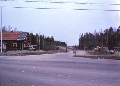 Östervallskogsvägen 1978.