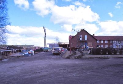 Utbyggnad av Solgården 1978.