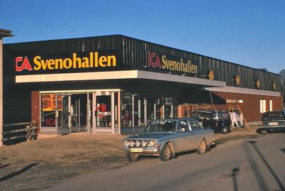 Nya ICA Svenohallen klar att invigas 1978/1979.