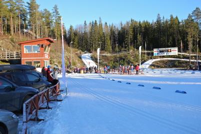 4 januari 2015 - Örje IL var först ut på det nya året med att arrangera skidtävling på Kölen Sportcenter.
