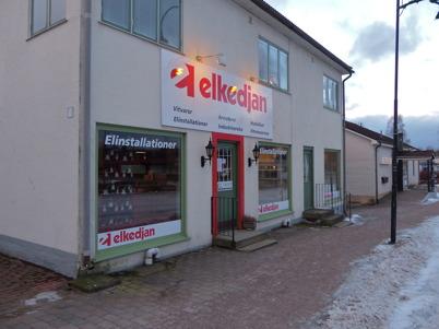 17 januari 2015 - Elkedjans butik vid torget i Töcksfors stängdes.
