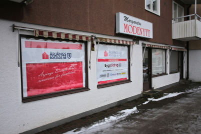 26 januari 2015 - Årjängs Bostads AB etablerade ett arbetsplatskontor inför den kommande renoveringen av hyresfastigheter.