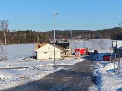 27 januari 205 - Och på Prästnäset byggdes det nya hus.