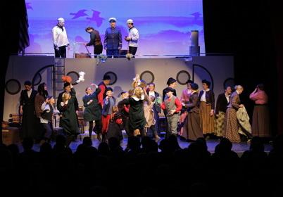 30 januari 2015 - Den bejublade musikalen Katarina av Amerika drog fullt hus i Årjäng.