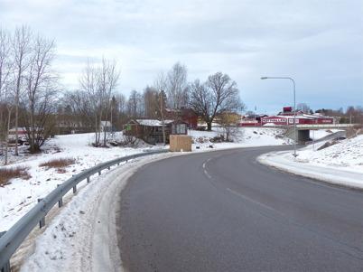 9 februari 2015 - Arbetet med nya anslutningen till E18 vid Älverud hade inte kommit igång.