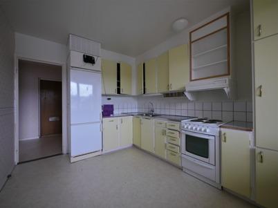 18 februari 2015 - Gamla kök revs i samband med renoveringen.