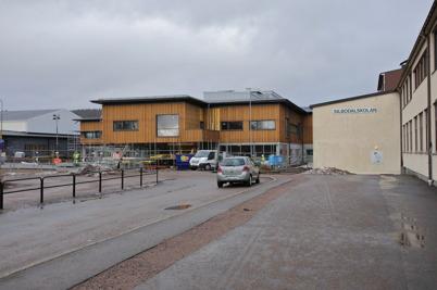 25 februari 2015 - I Årjäng fortsatte byggandet av nya högstadieskolan.