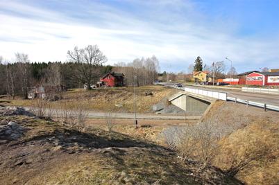 6 mars 2015 - Arbetet med nya anslutningen till E18 vid Älverud hade inte kommit igång.