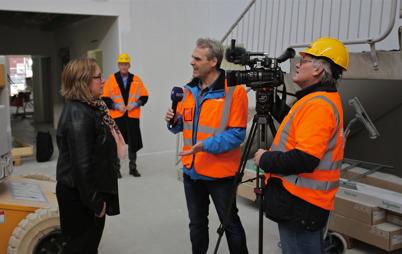 10 mars 2015 - Och SVT Värmlandsnytt var på plats för att göra ett nyhetsinslag.