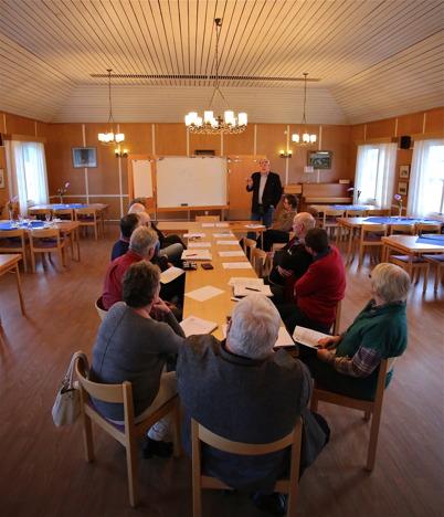 16 mars 2015 - Och så fortsatte planeringen inför den stora festen i september då Kanalen Stora Lee - Östen skulle fylla 100 år.