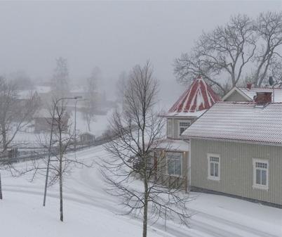 26 mars 2015 - Och så kom vintern på återbesök.