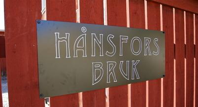 4 april 2015 - Keramikverkstan och butiken vid Hånsfors Bruk deltog i konstrundan.