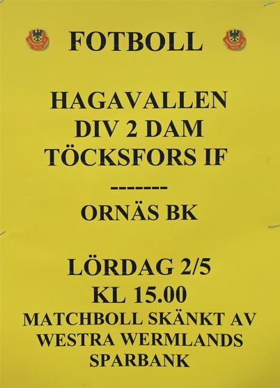 2 maj 2015 - Töcksfors IF:s Damlag startade fotbollsäsongen med siktet inställt på  division 1.