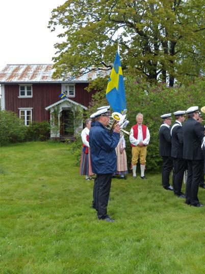6 juni 2015 - I Östervallskog firades Sveriges Nationaldag.