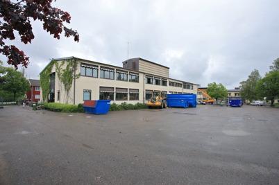18 juni 2015 - I Årjäng startade rivningen av Silbodalskolan.