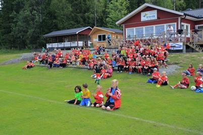 25 juni 2015 - Fotbollskolan på Hagavallen pågick sista veckan i juni.
