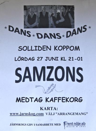 27 juni 2015 - I Koppom dansade man.