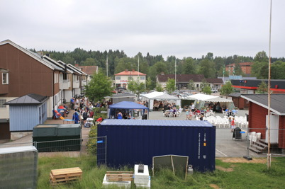4 juli 2015 - På torget i Töcksfors pågick Töcksmarksveckan.