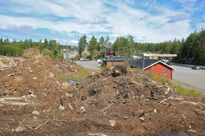 27 juli 2015 - Området vid Grense Kroa på norska sidan gränsen ändrade skepnad.