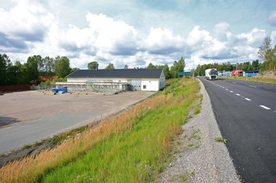 31 augusti 2015 - Vid Skärmon pågick bygget av Nordic solars nya lokaler.