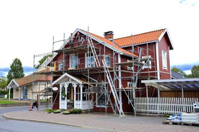 """4 september 2015 - """"Bernhardshuset"""" blev fint renoverat."""