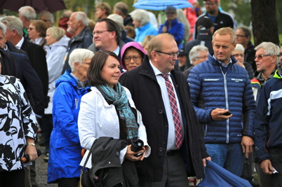 5 september 2015 - Landshövding Kenneth Johansson kom till Kanalparken tillsammans med Laila Gibson vd för visitVärmland.