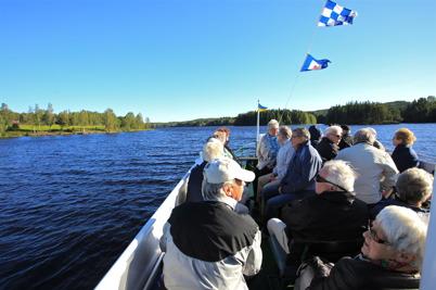 6 septemebr 2015 - På söndagen var väder-gudarna på bättre humör, även om det var lite blåsigt på Storholmens fördäck.