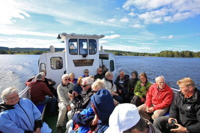 6 september 2015 - Från Östervallskogs Gästhamn gick färden med Storholmen tillbaka till Töcksfors.