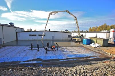 6 oktober 2015 - Wermland mechanics byggde ut fabriken på Skärmons industriområde.
