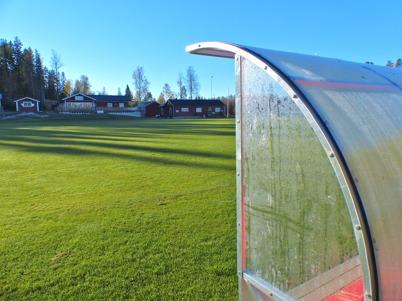 18 oktober 2015 - Ännu en framgångsrik säsong för Töcksfors IF fotboll var över och Hagavallen låg öde.