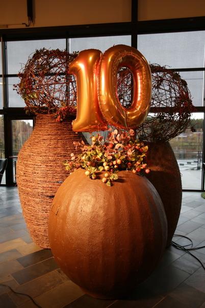 28 oktober 2015 - Töcksfors shoppingcenter fyllde 10 år.