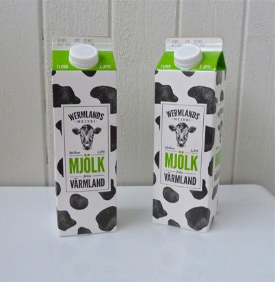 5 november 2015 - I matbutikernas hyllor började den närproducerade mjölken från Nysäters mejeri att dyka upp.