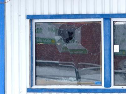 22 januari 2015 - Centrumkiosken vandaliserades.