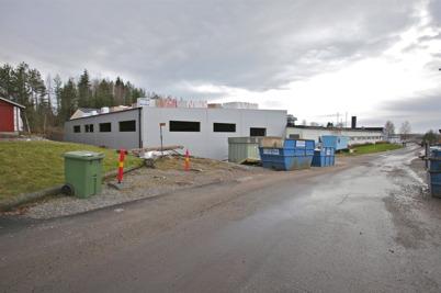 10 november 2015 - Wermland mechanics utbyggnad av fabriken vid Skärmon gick snabbt framåt.