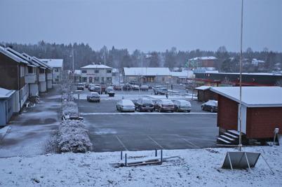 19 november 2015 - Så kom det då lite snö.