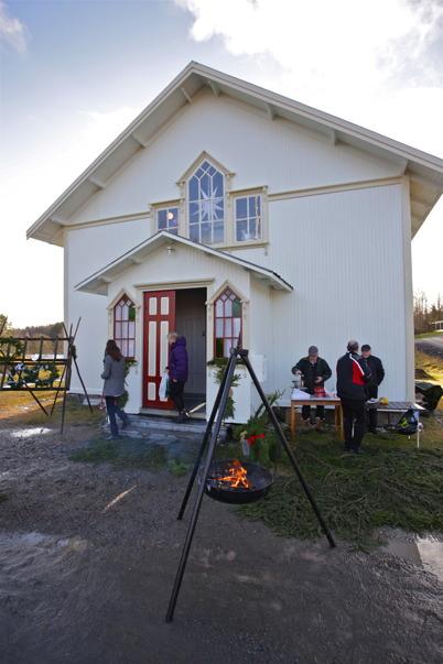 29 november 2015 - Håns byalag ordnade julmarknad i nya föreningshuset, tidigare Håns missionshus.