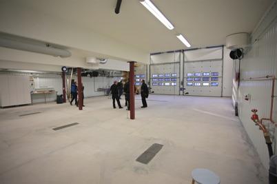 30 november 2015 - I Töcksfors brandstation var det besiktning av nybygget.