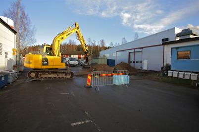 11 december 2015 - Wermland mechanics utbyggnad av fabriken gick framåt.