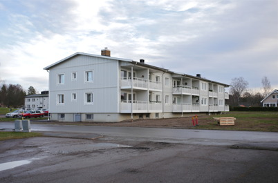 11 december 2015 - Totalrenoveringen av fastigheten Västra Torggatan 2 i Töcksfors var klar.