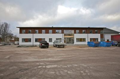21 december 2015 - Nordic solarbyggnaden var klar utvändigt