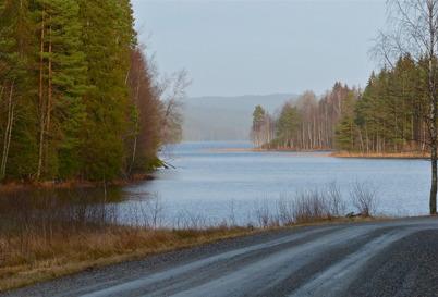 23 december 2015 - Sjön Töck låg isfri.