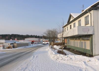 31 januari 2010 - Gamla Konsumhuset vid Sveavägen.