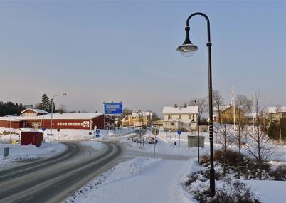 31 januari 2010 - Kötthallen, gamla centrumhuset och Nygård.