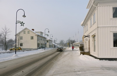 13 januari 2010 - I det gamla bankhuset vid Sveavägen finns nu frisörsalongen House of Style.