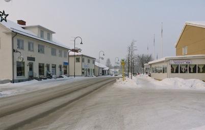 13 januari 2010 - Lilla Salongen, Töcksfors Elektriska, Biblioteket och Arams pizzarestaurang vid Sveavägen.