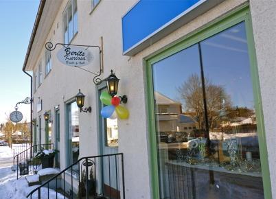 "13 februari 2010 - Ny butik ""Berits Kuriosa"" öppnar i Töcksfors centrum."