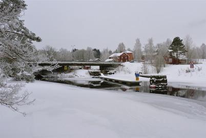11 februari 2010 - Området vid övre slussen.