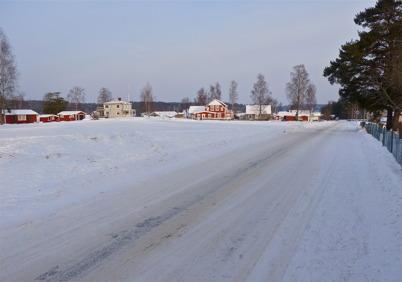 31 januari 2010 - Den äldre bebyggelsen vid norra delen av Bögatan.