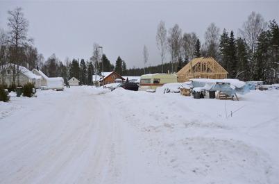 27 januari 2010 - Snart är alla villatomterna vid Tallvägen bebyggda.