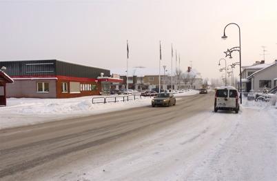 13 januari 2010 - Den nedlagda matvarubutiken vid Sveavägen.